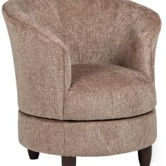 Leather Swivel Barrel Chair Dining Room Chairs Covers By Best Home Furnishings Wolf And