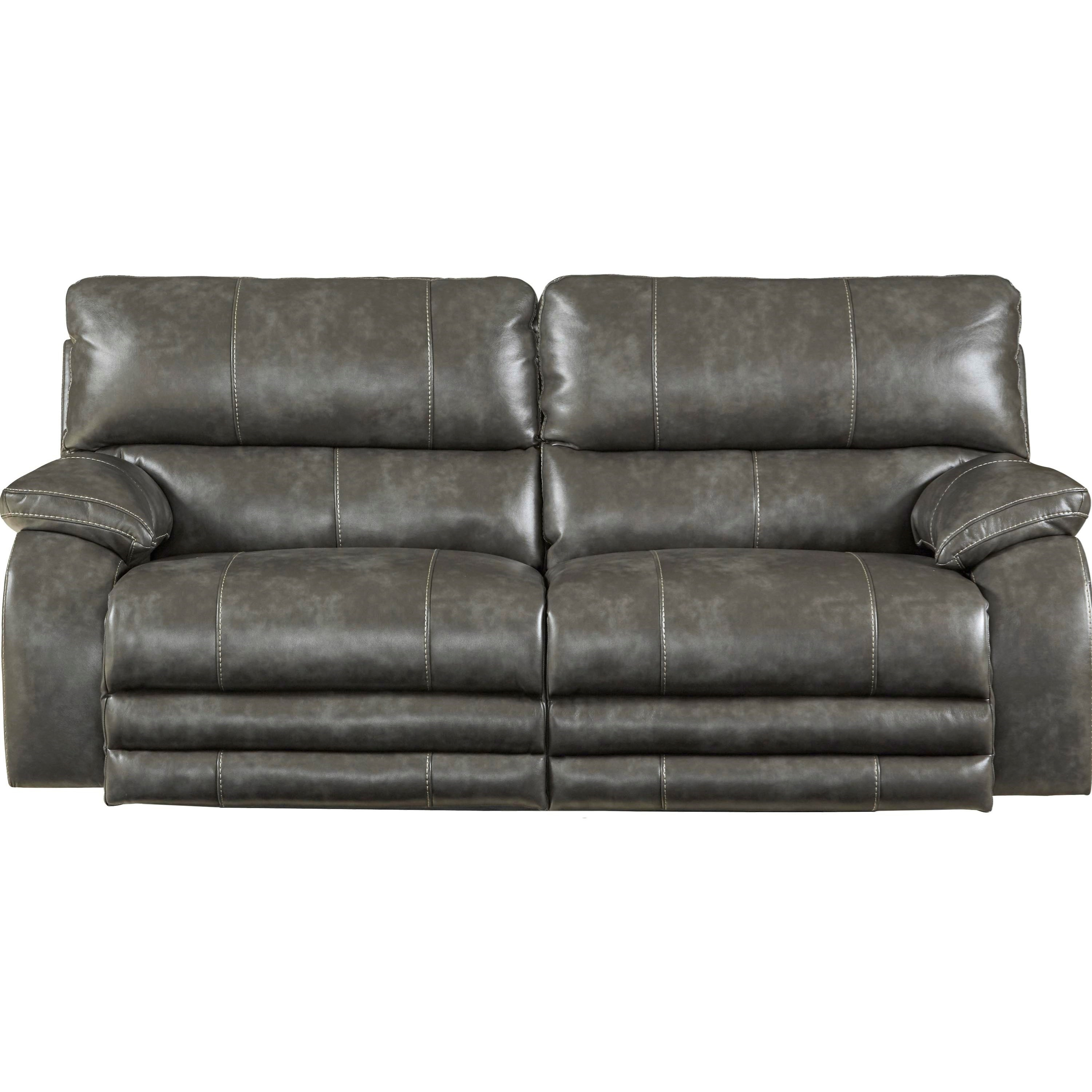 catnapper sofa center durant square reclining with power headrest and lay flat by