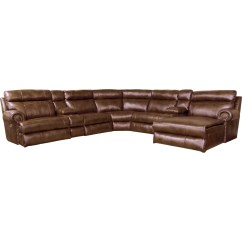Amazon Sofa Set 5 Seater Top Grade Leather Reclining Sectional With Seats By Catnapper Wolf