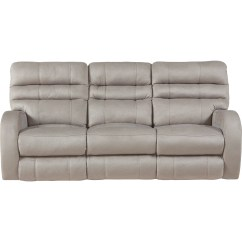 Modern Power Reclining Sofa Gliders Contemporary Lay Flat With