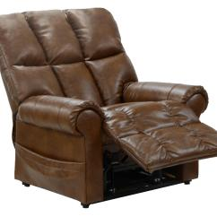 Power Lift Chair Recliner Modern Slipper Stallworth Full Lay Out By Catnapper