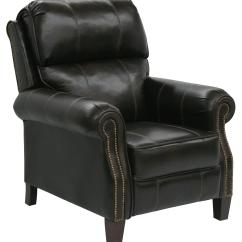 Faux Leather Recliner Chair Waffle Bungee Target High Leg With Extended Ottoman In