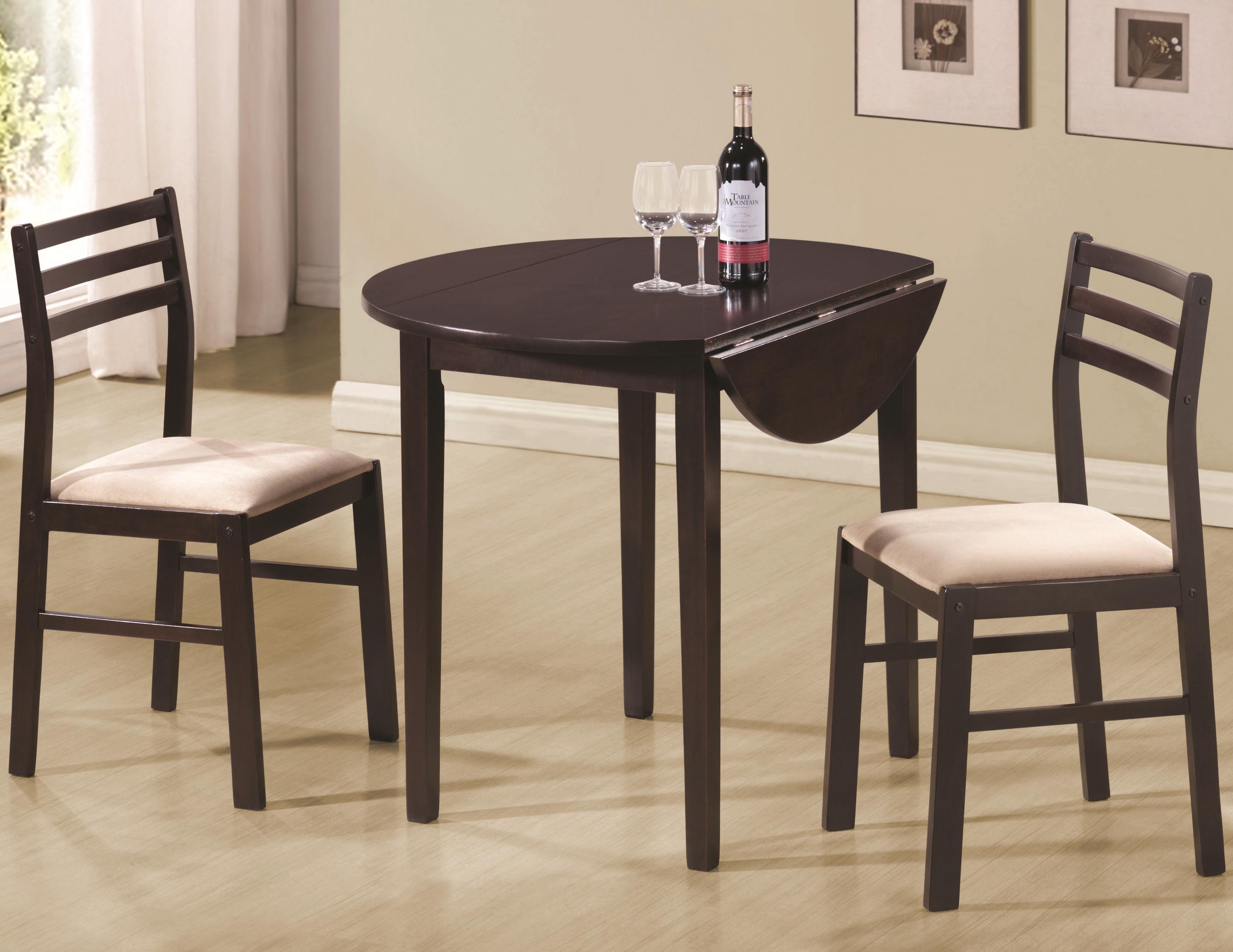 table chair set ikea markus casual 3 piece and by coaster wolf