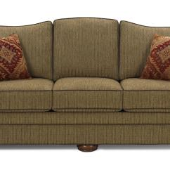 Sofa Wood Frame Exposed Uk Furniture Slipcovers For Sectional Sofas Traditional With Feet By Craftmaster