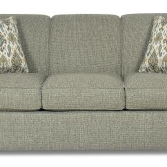 Sleeper Sofa No Arms Triangle Legs Contemporary With Flared Track And