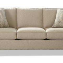 Transitional Style Sectional Sofas Sofa Sets For Home With Flare Tapered Arms And Vintage Tack
