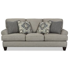 Rolled Arm Sofa Nz Cloud Knock Off With Arms And Toss Pillows By Craftmaster