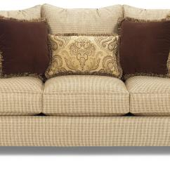 Sofa Wood Frame Exposed Uk Big Squishy Sofas Traditional With Feet By Craftmaster