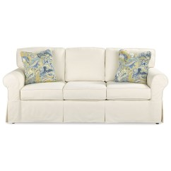 Sofa Sleeper Cover Wooden Set Designs 2017 Casual Slipcover With Queen Innerspring