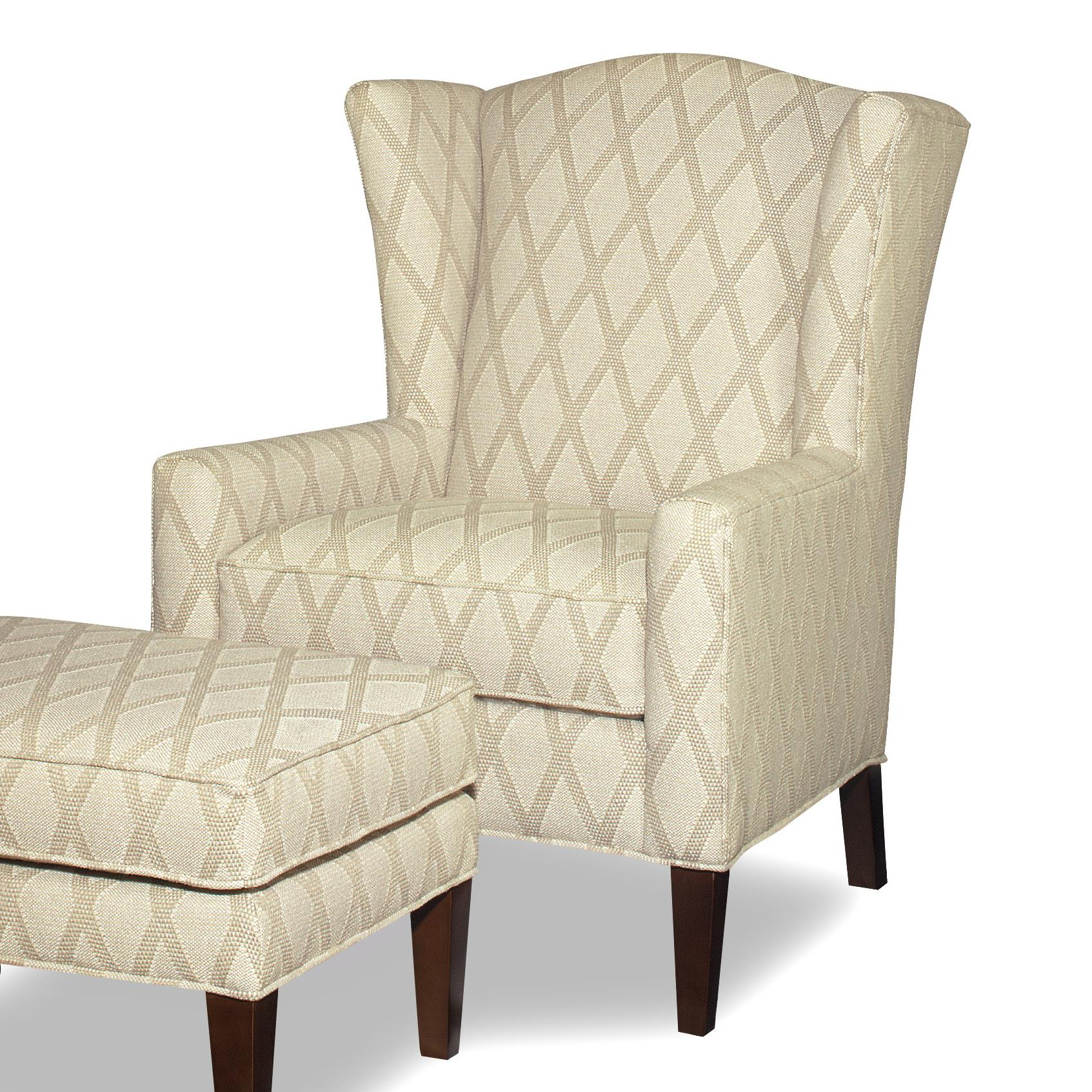 transitional accent chairs hobby lobby wedding chair covers wing with wide flared wings by