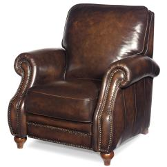 Wood Recliner Chair Theradapt Posture Traditional Leather High Leg With Turned