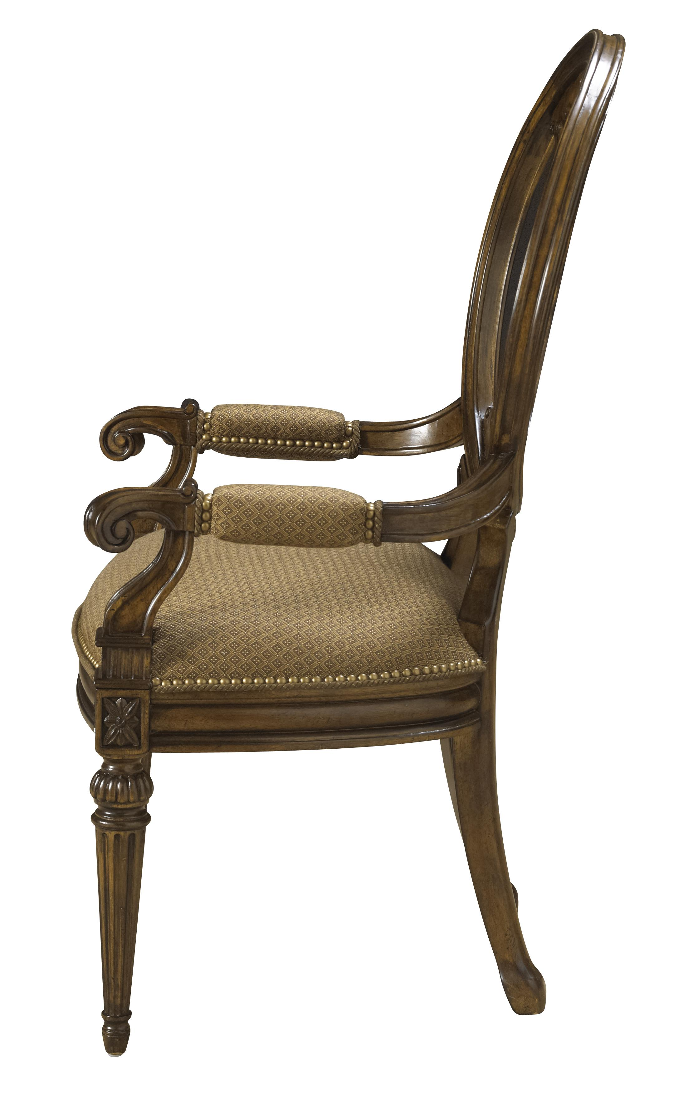 dining chair with armrest full body massage india traditional antique style arm coffee