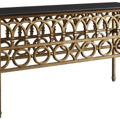 Wrought Iron Sofa Set Online Lunar Round Lounge Console Table W Marble Top By Fine Furniture Design