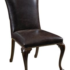Dining Table With Leather Chairs Hostess 7 Piece Round And Upholstered