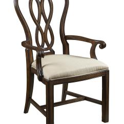 Armed Dining Chairs Chair Positions In A Fraternity Ribbon Back Arm By Fine Furniture Design