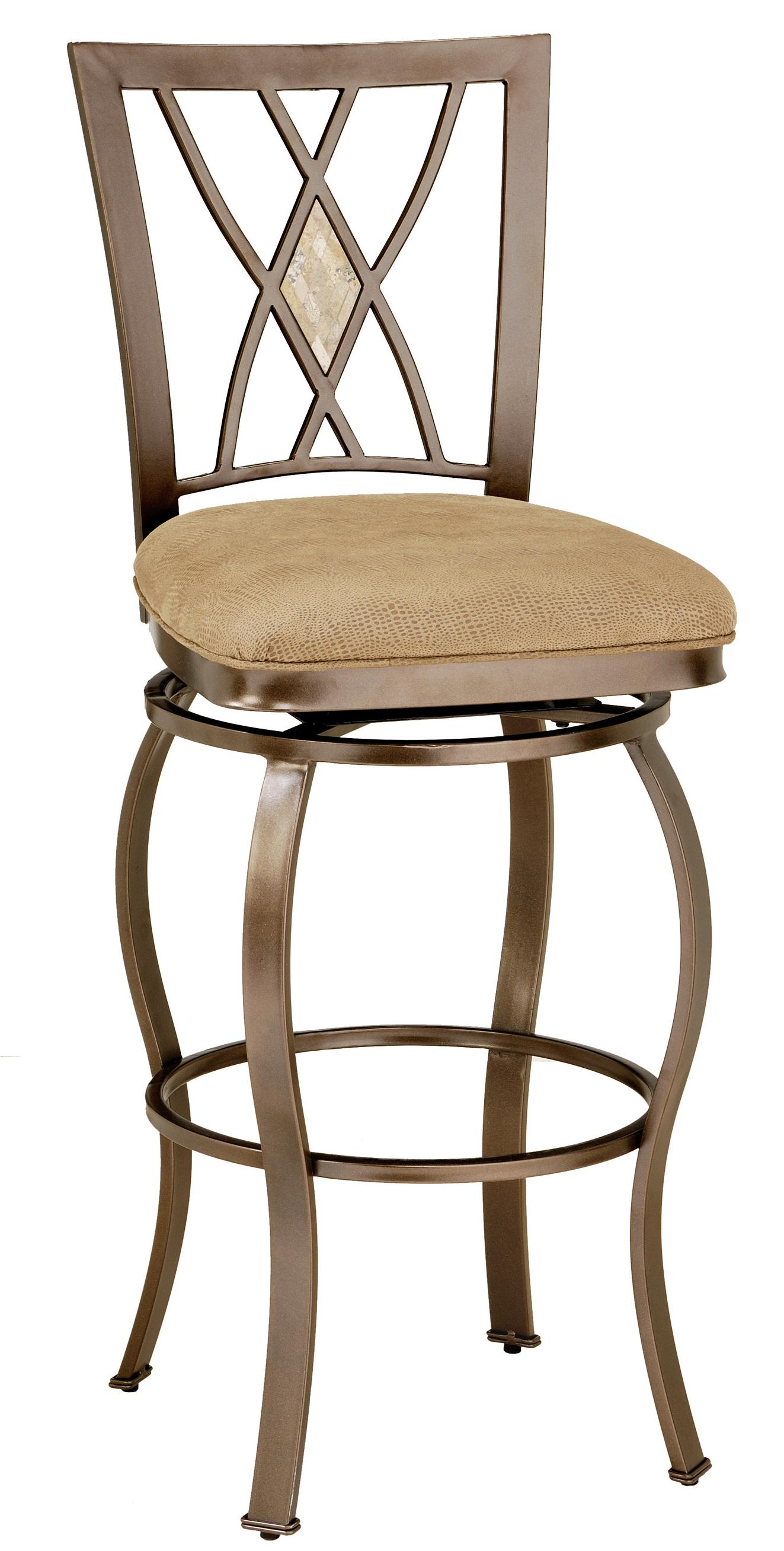 counter height bar chairs ergonomic chair journal 30 quot brookside diamond fossil back swivel