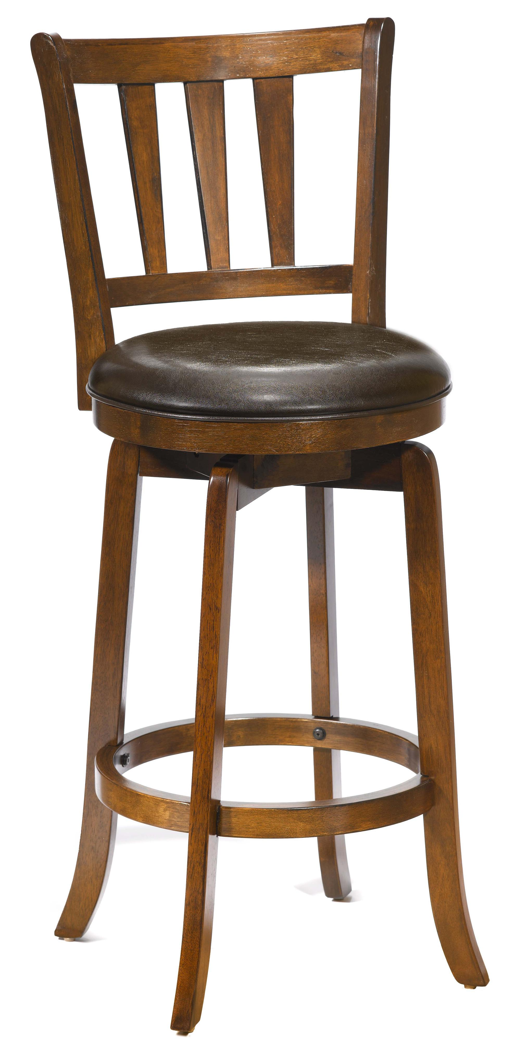 26 Counter Height Presque Isle Swivel Bar Stool by