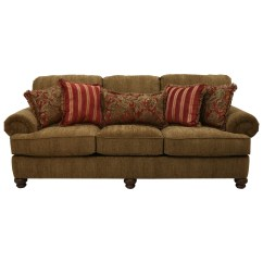 Fancy Sofa Pillows Pier One Nyle Reviews With Rolled Arms And Decorative By Jackson