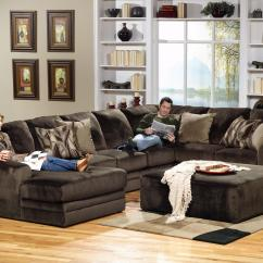 Jackson Furniture Sectional Sofas Sleeper Sofa And Loveseat Set 3 Piece With Rsf Section By