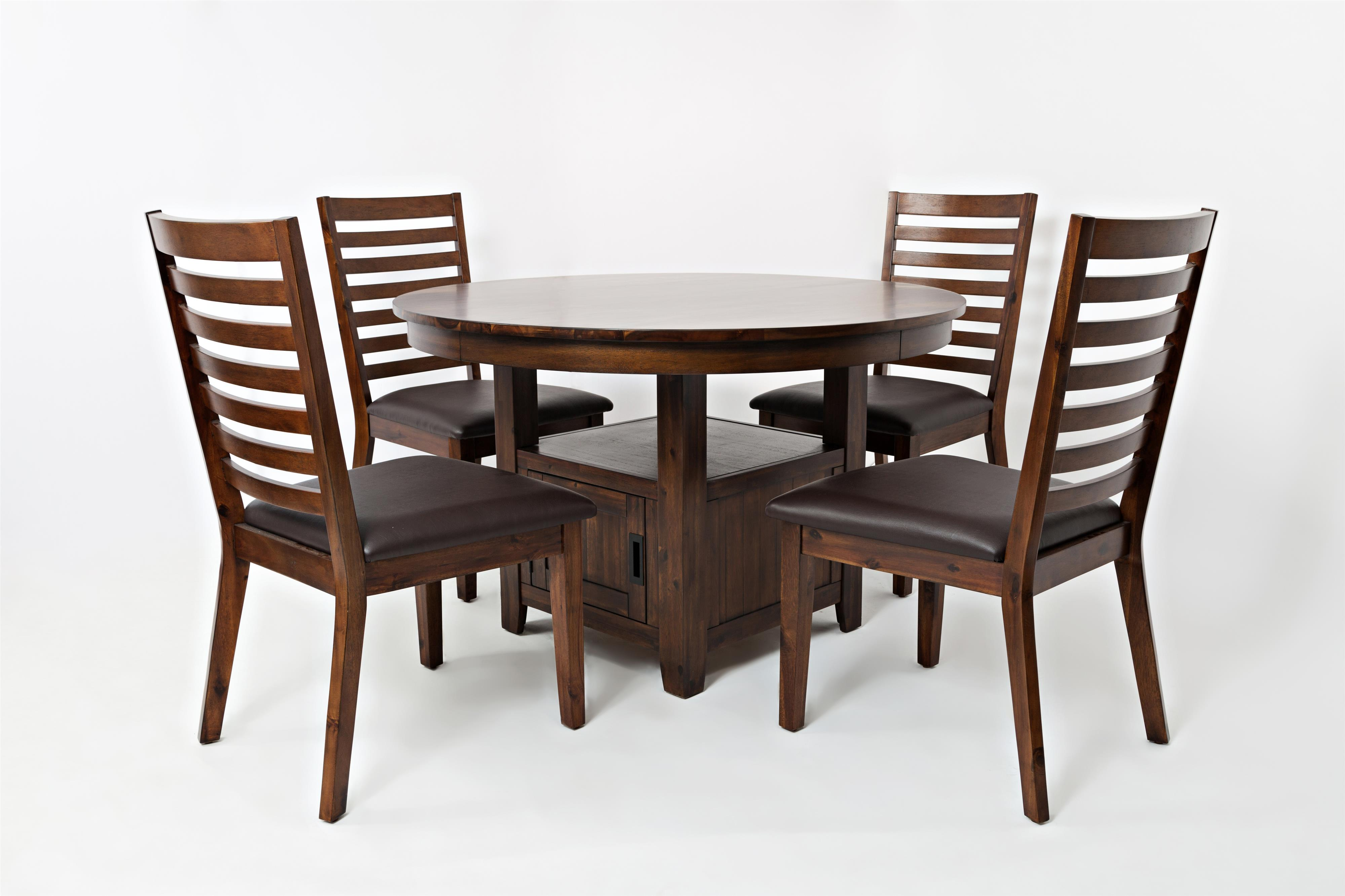 high table chair set resin wicker chairs 48 quot round low and by jofran wolf