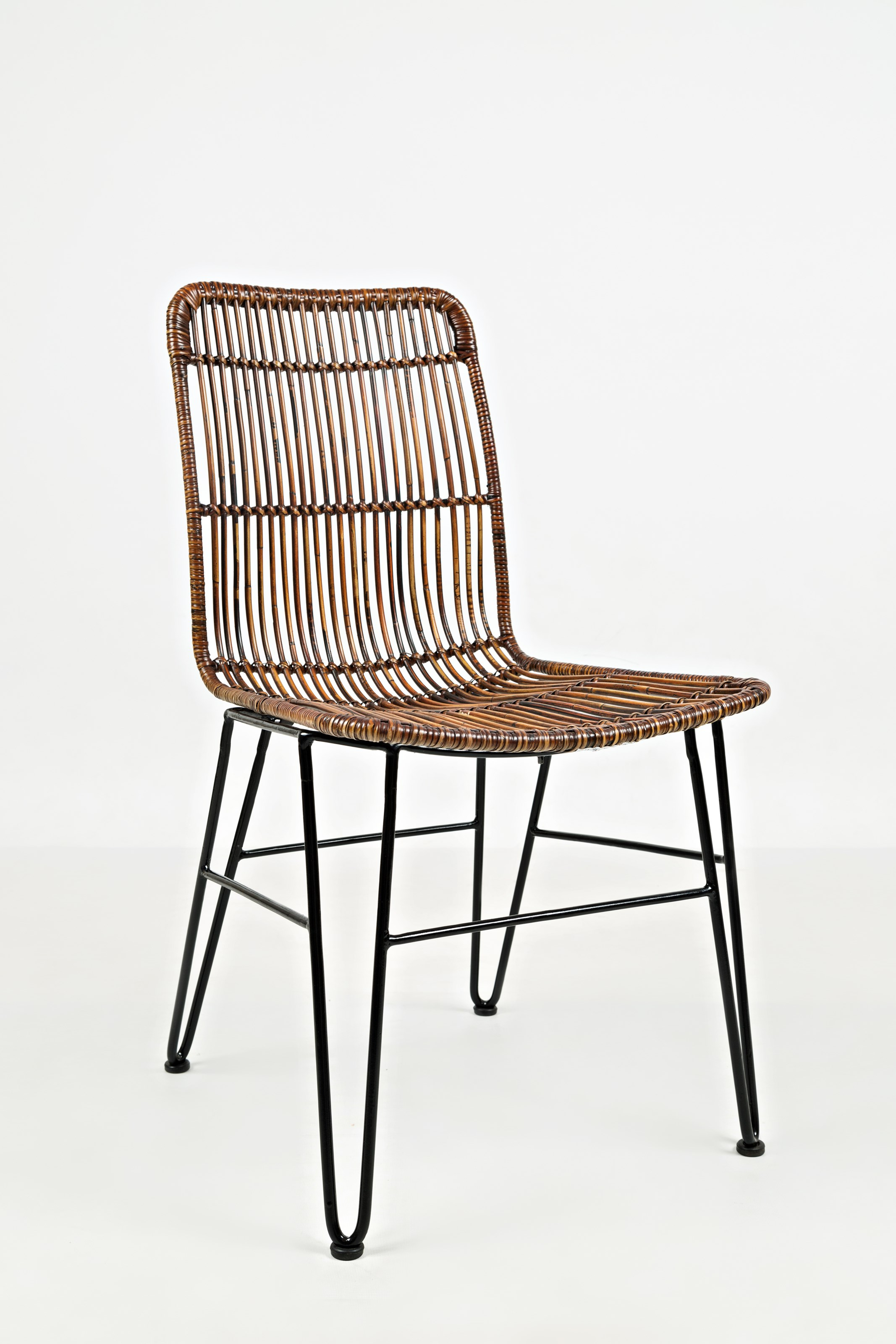 Wire Dining Chairs Wire And Rattan Dining Chair By Jofran Wolf And Gardiner