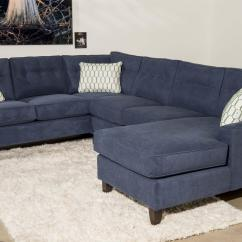 3 Piece Microfiber Sectional Sofa With Chaise Tampa Bed Contemporary By