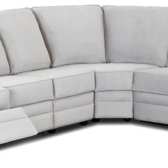 Sectional Recliner Sofas Velvet Sofa With Chaise Classic Reclining Rolled Arms By