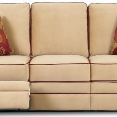 Klaussner Grand Power Reclining Sofa Grey Dark Brown Floor Dual By Wolf And Gardiner