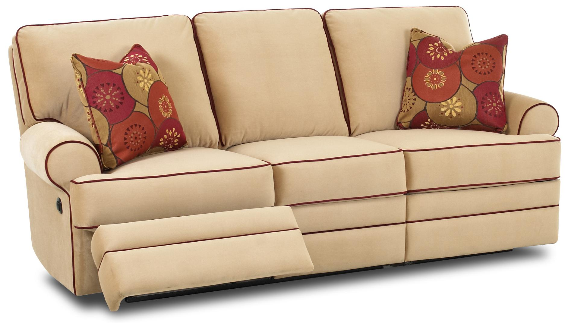 klaussner grand power reclining sofa lancaster restoration hardware dual by wolf and gardiner