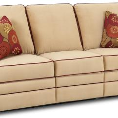 Small Sofa Bed Without Arms Microfiber And Pets Transitional Dual Reclining By Klaussner Wolf