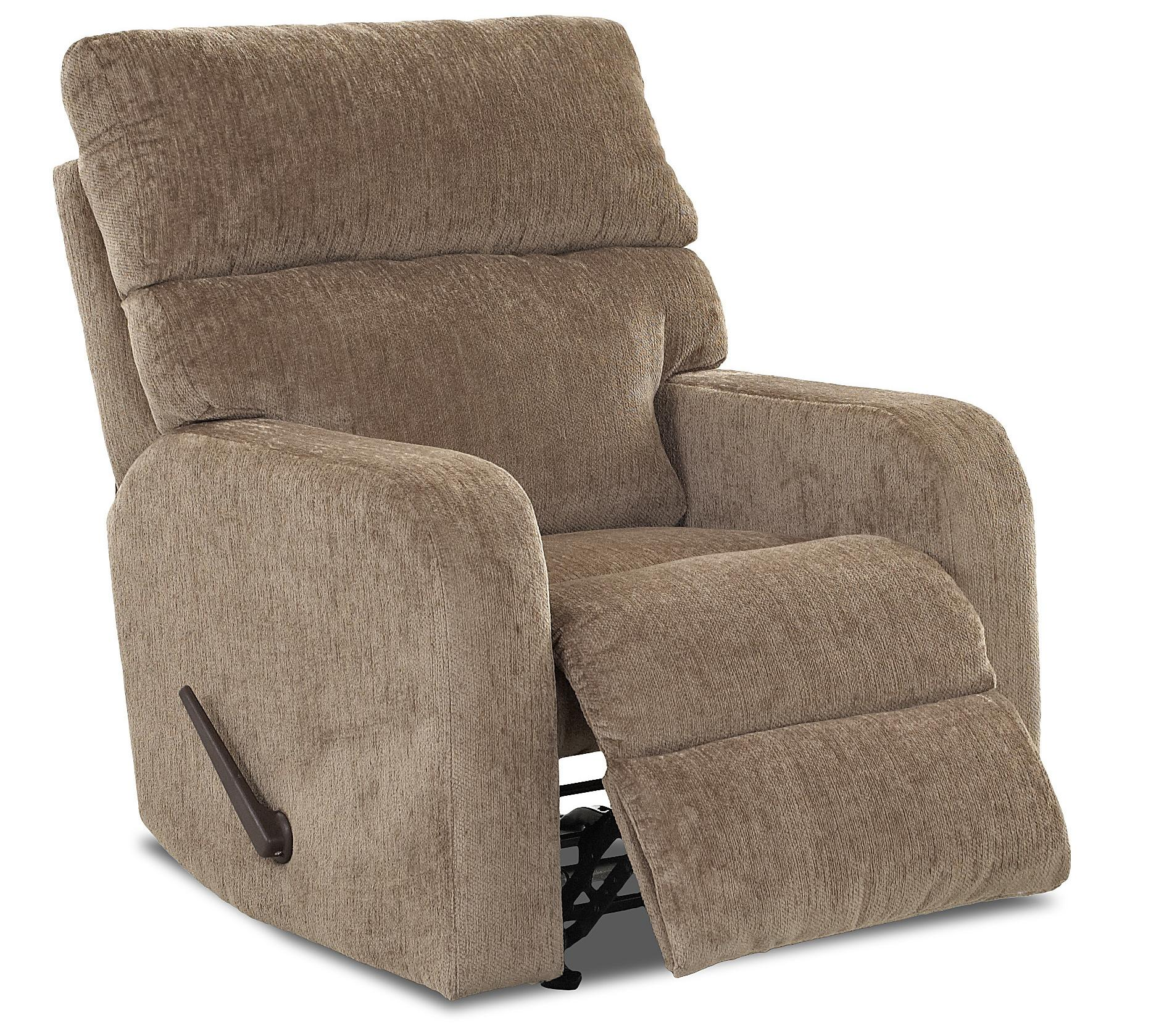 rocking recliner chairs lounge beach chair target casual swivel reclining by klaussner wolf