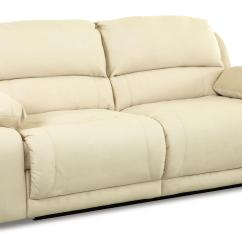 Klaussner Grand Power Reclining Sofa Saturn Leather Sectional Set Double By Wolf And