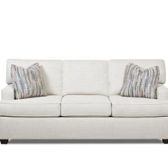 Contemporary Sofa With Wood Trim How To Make A Bed More Comfortable Sit On Stationary Track Arms And T