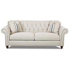 Tufted Button Sofa Odd Shaped Slipcovers Traditional With Back And Rolled Arms