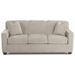 Tight Back Sofas Sectional Seattle Contemporary Innerspring Queen Sleeper Sofa With