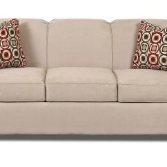 Queen Sofa Bed No Arms Miami Beach Contemporary Innerspring Sleeper With Tight