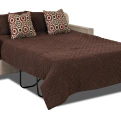 Queen Sofa Bed No Arms Plastic Contemporary Innerspring Sleeper With Tight
