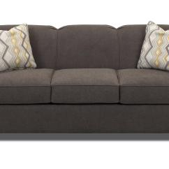 Queen Sofa Bed No Arms Foam Cushion Inserts Contemporary Innerspring Sleeper With Tight