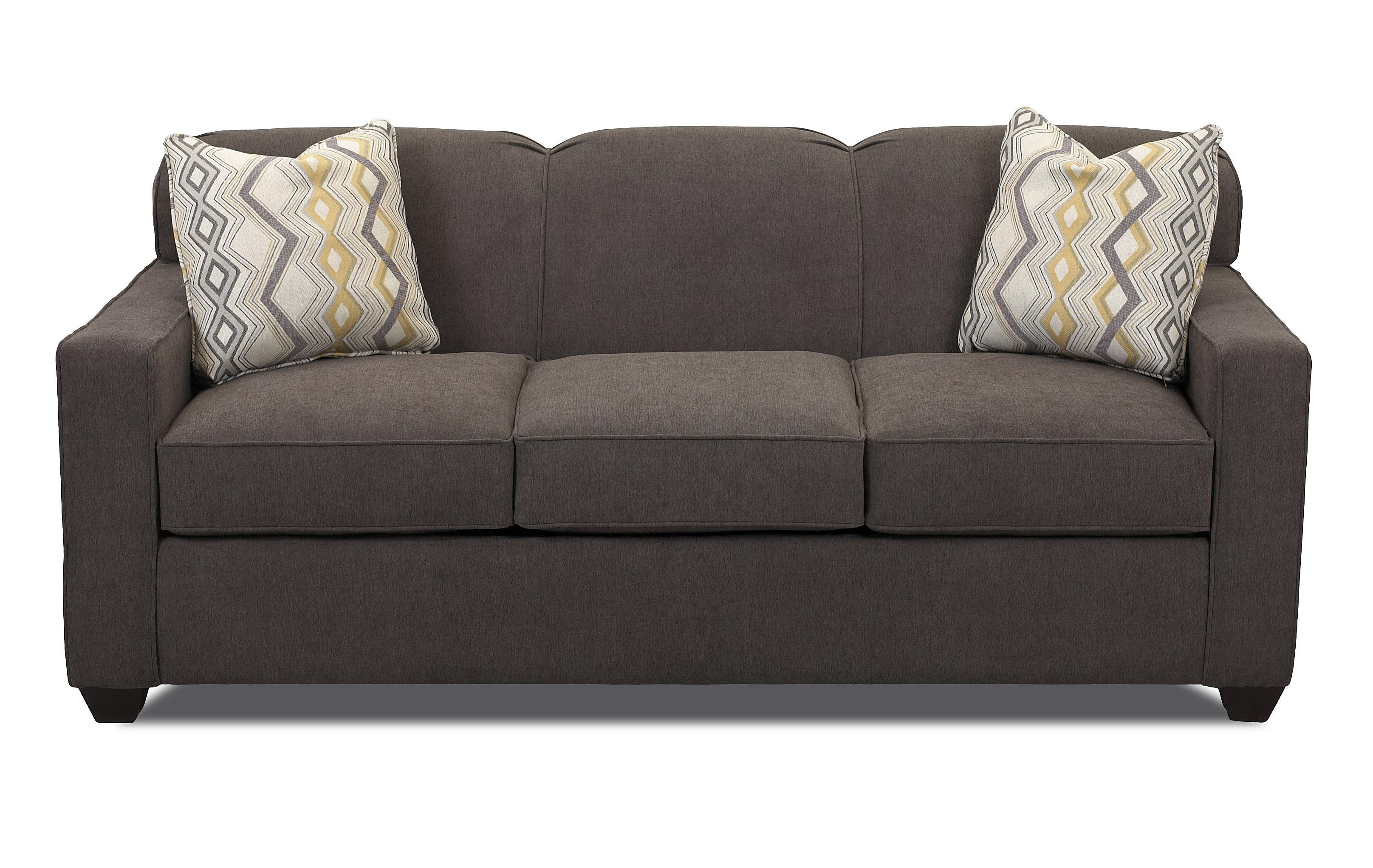 sleeper sofa no arms best makers uk contemporary innerspring queen with tight