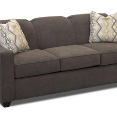 Queen Sofa Bed No Arms Repair Attached Cushions Contemporary Innerspring Sleeper With Tight