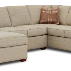 Left Chaise Sofa Sectional Slipcover Clean Leather With Baby Wipes Facing Lounge By Klaussner