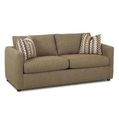 Loveseat Size Sleeper Sofa Wicker Cushions Replacement Regular Full By Klaussner Wolf And