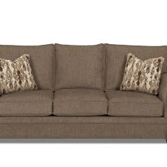 Traditional Sofa Sleeper Leather Sectional Dreamquest Queen With Nailhead