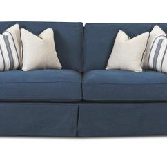 Down Wrapped Cushion Sofas Ikea Usa Rp Sofa Cover With Blend Cushions By Klaussner Wolf And