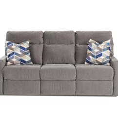 Cloud Track Arm Leather Two Seat Cushion Sofa 3 Seater Recliner Ebay Reclining With Soft Arms And Pillows By