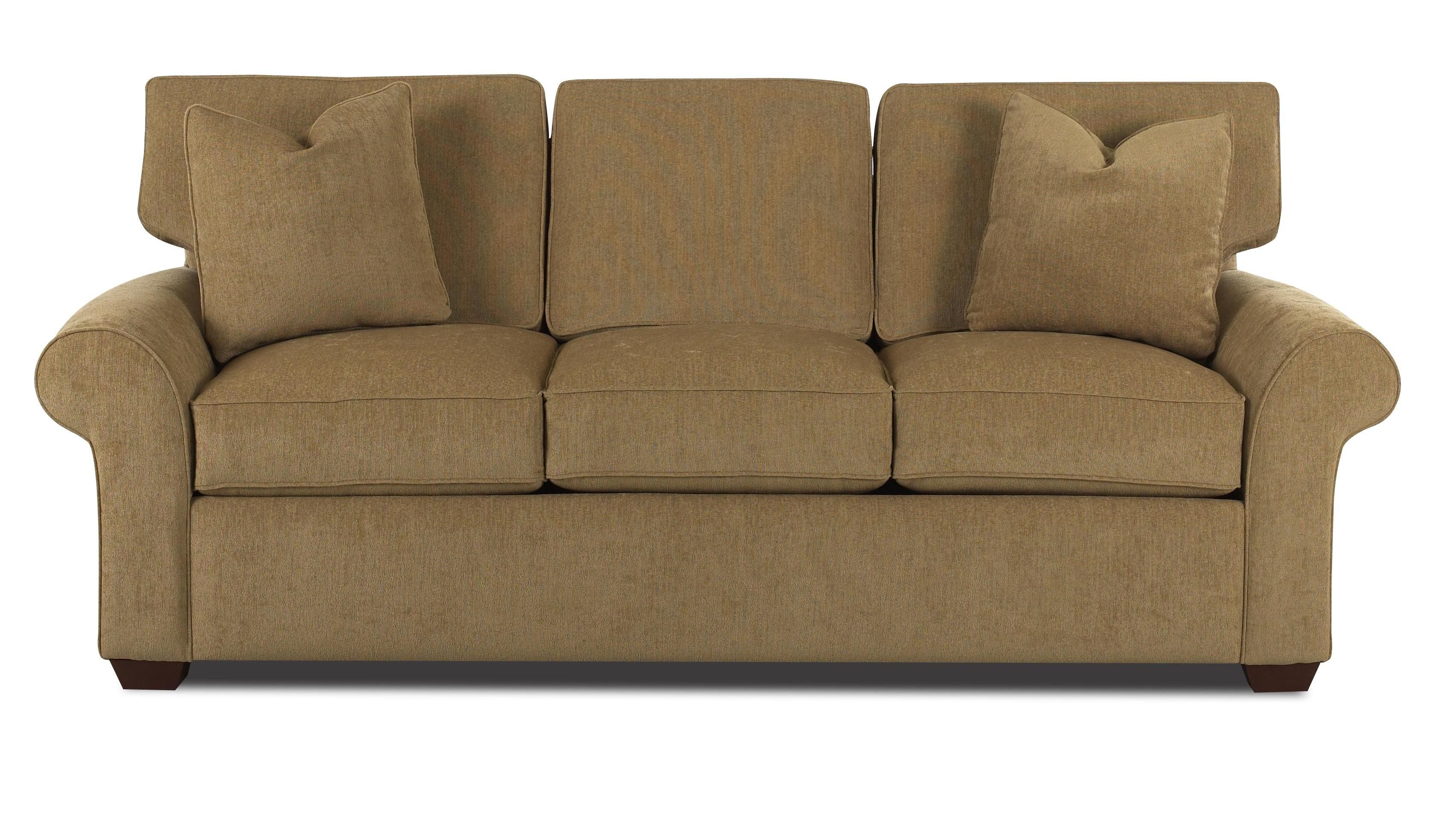 queen sofa bed no arms sectional with pull out and storage innerspring sleeper rolled wood