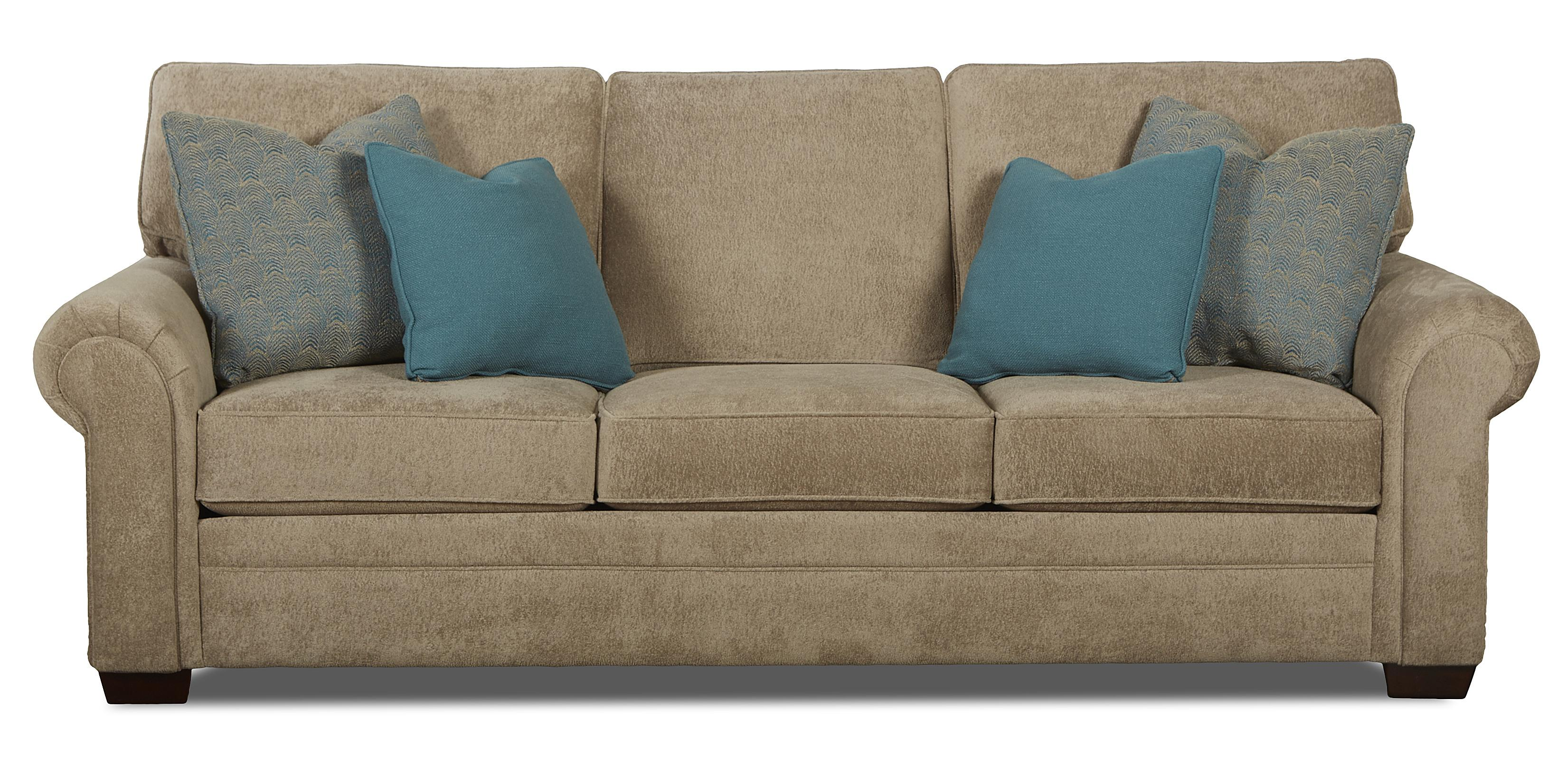 traditional sofa sleeper tampa florida queen inner spring by klaussner