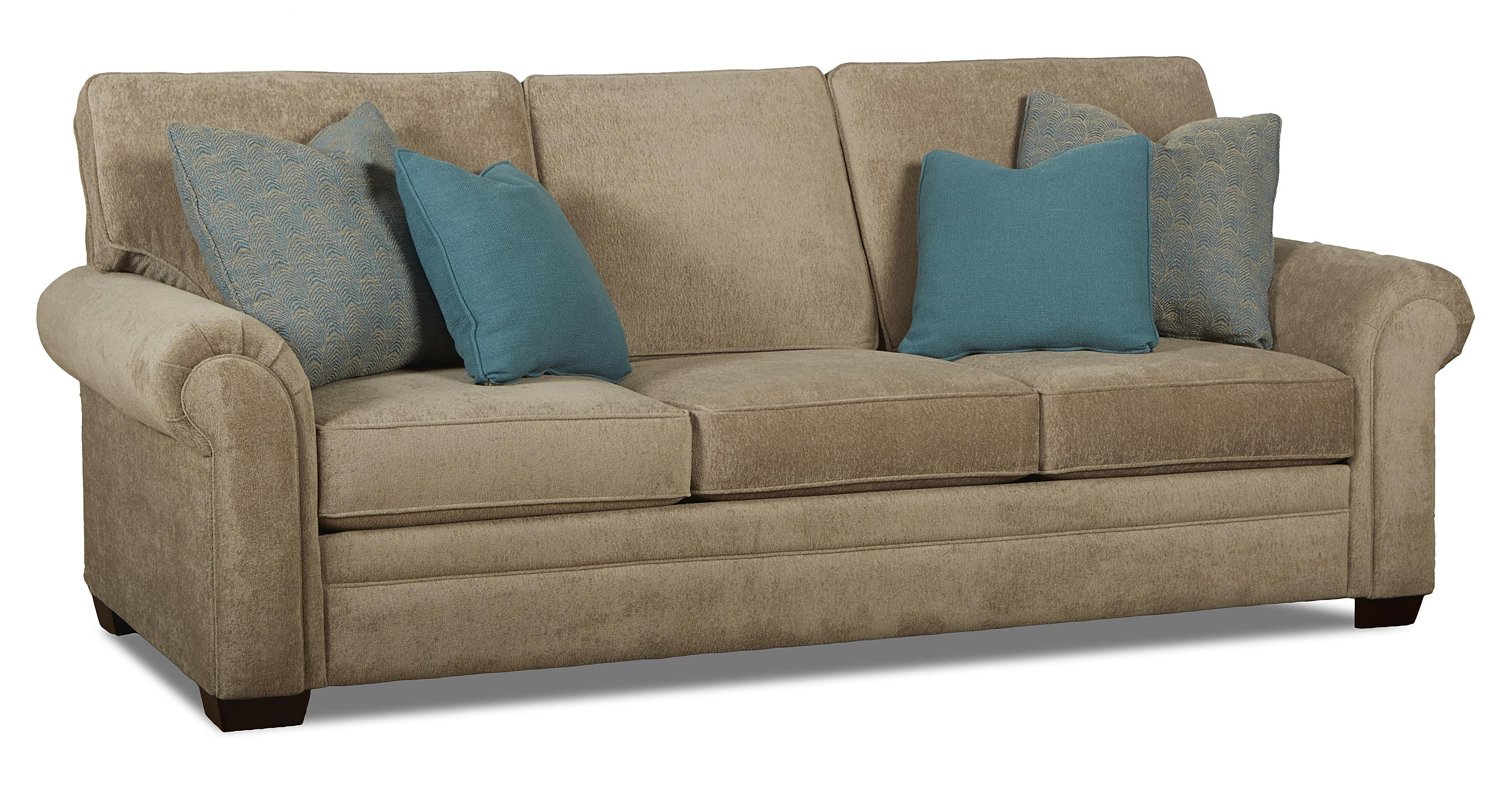 traditional sofa sleeper ultra modern bed queen inner spring by klaussner