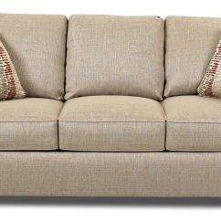 Queen Sofa Bed No Arms Sectional Ideas Transitional Dreamquest Sleeper By Klaussner
