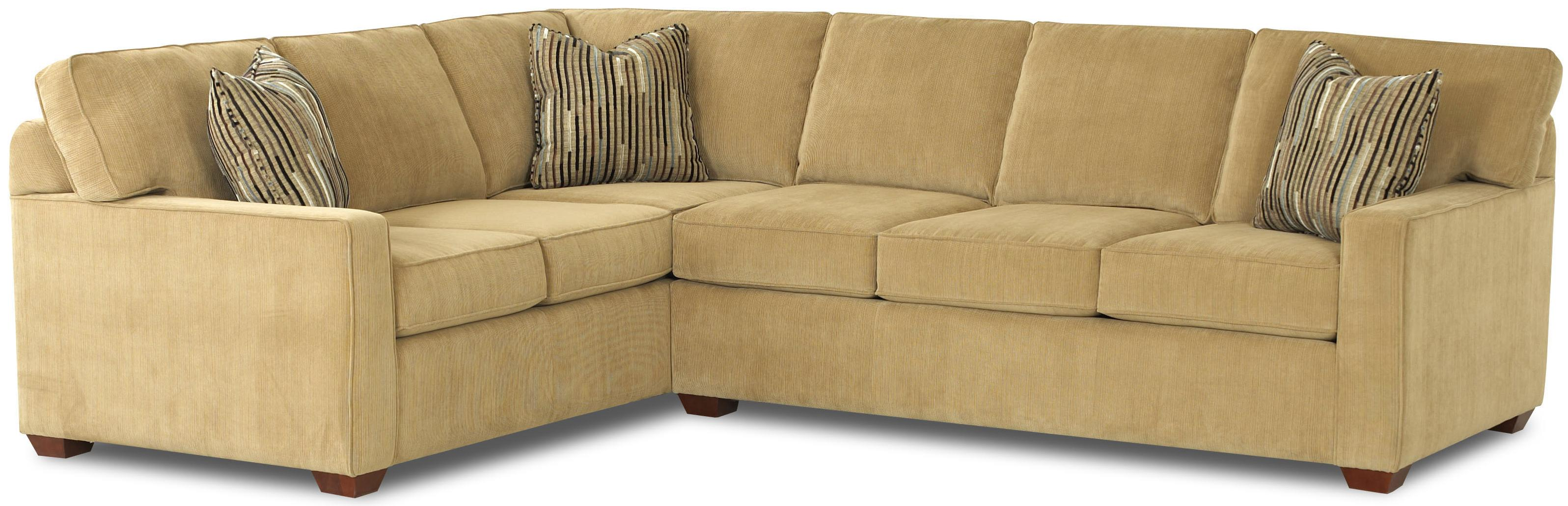 modern sofa l shape broyhill sets shaped contemporary sectional by klaussner wolf and